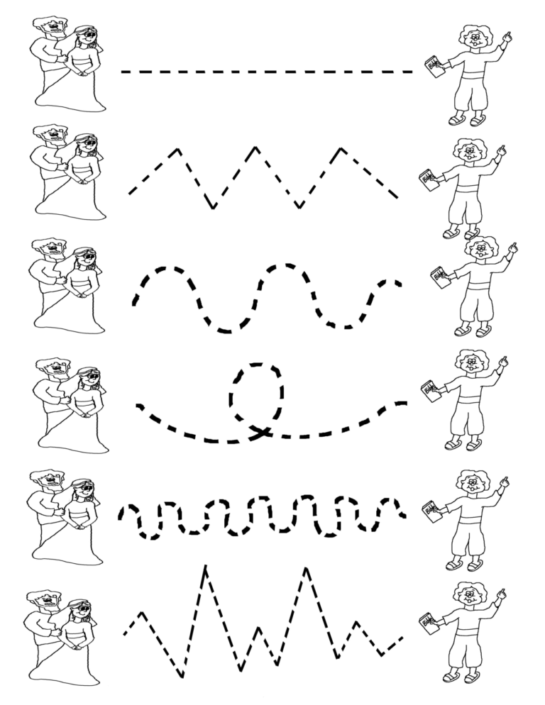 Preschool Tracing Worksheets Best Coloring Pages For Kids