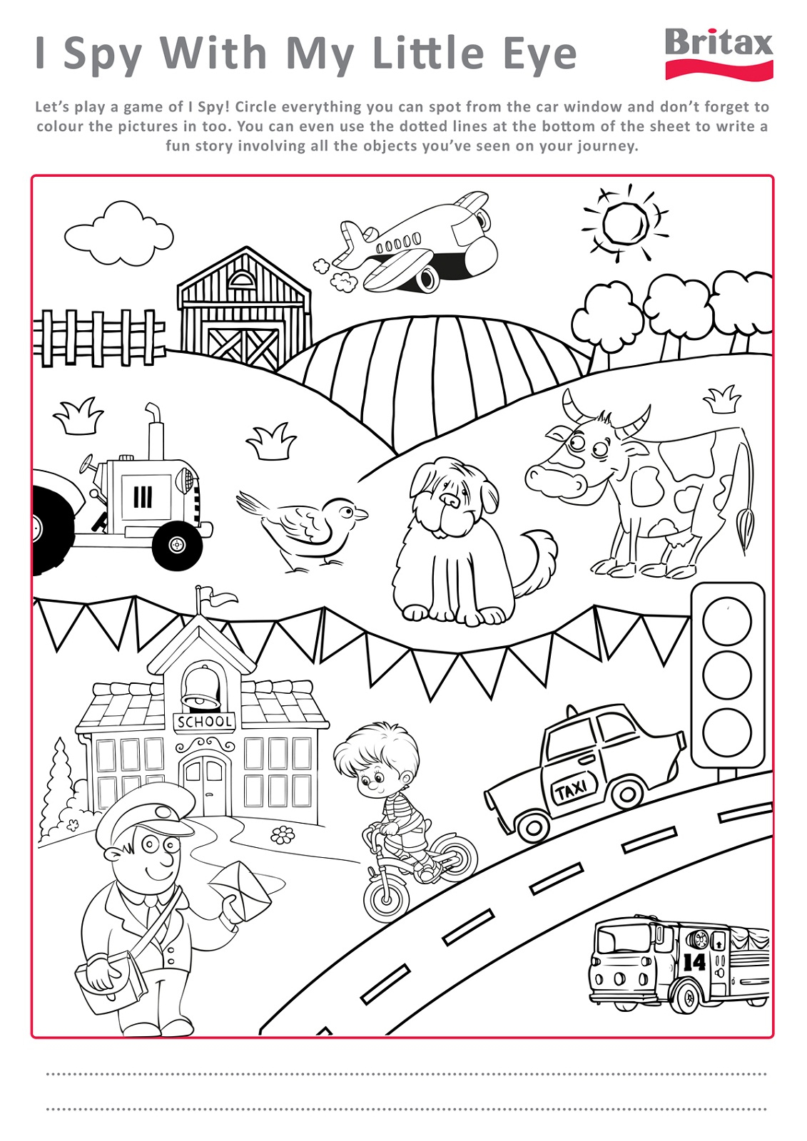Printable Activity Sheets For Kids Activity Shelter