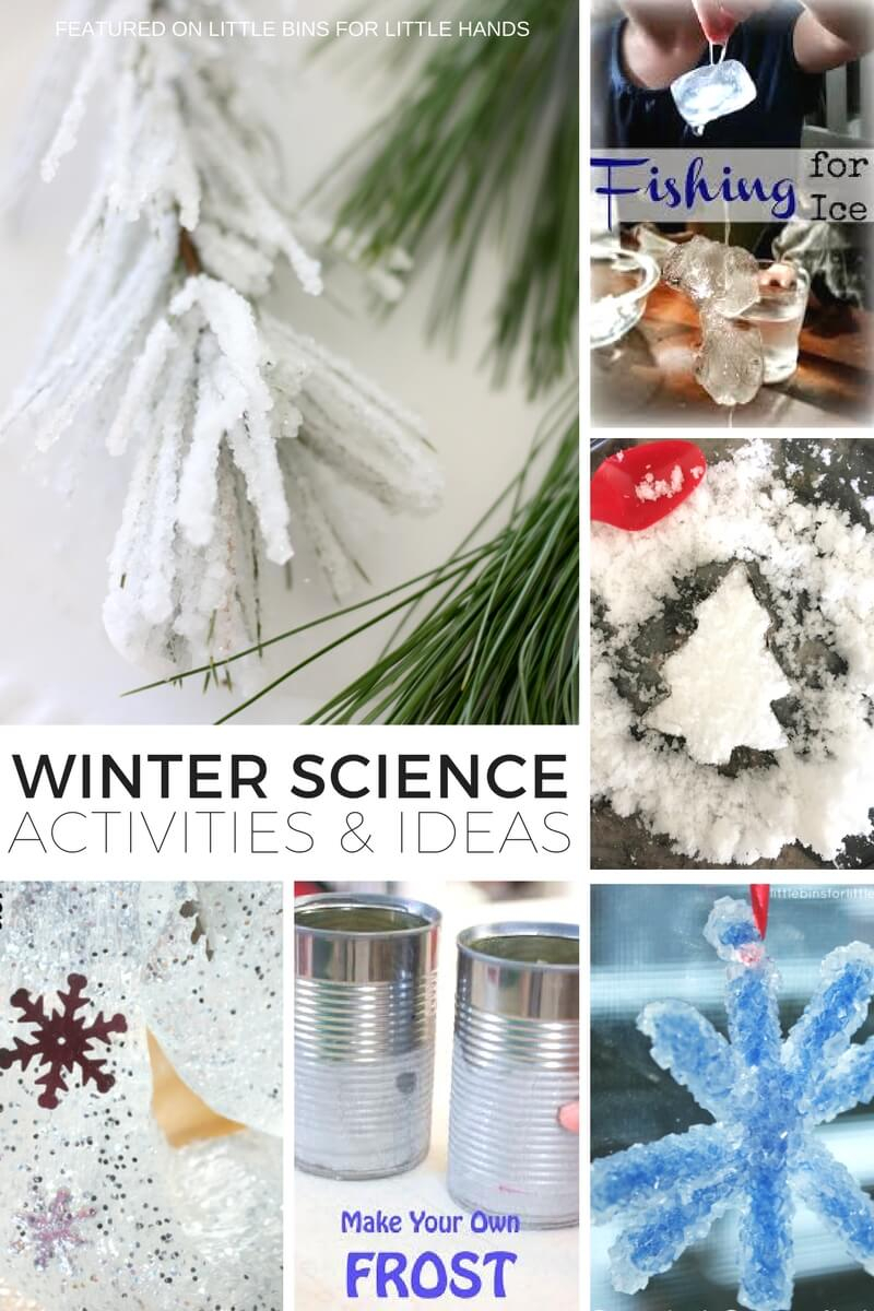 Snowman Science Activities And Experiments For Winter STEM