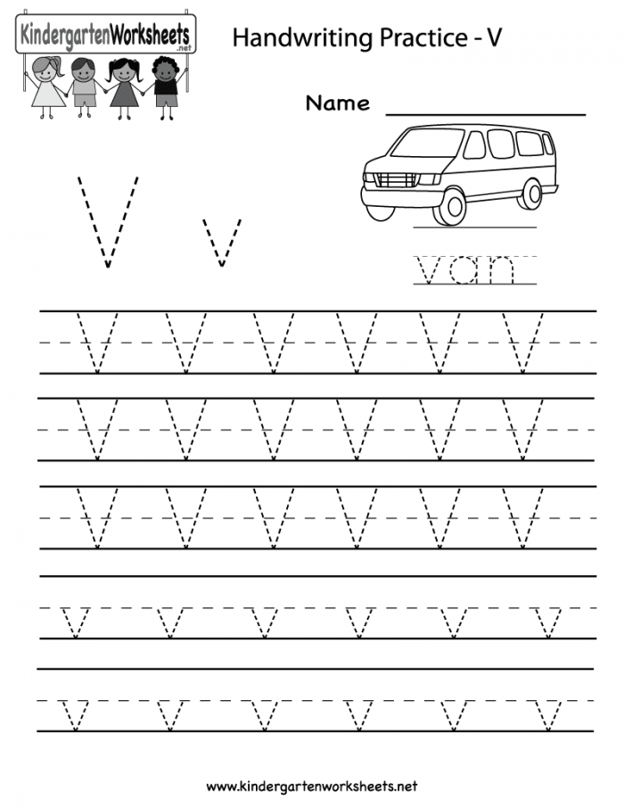 Trace And Write The Letter V Worksheets 99Worksheets